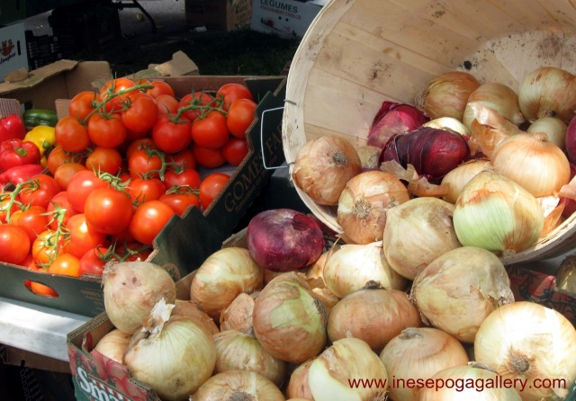 Nutrition and fresh vegetables