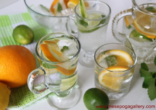 How to make water with fruit
