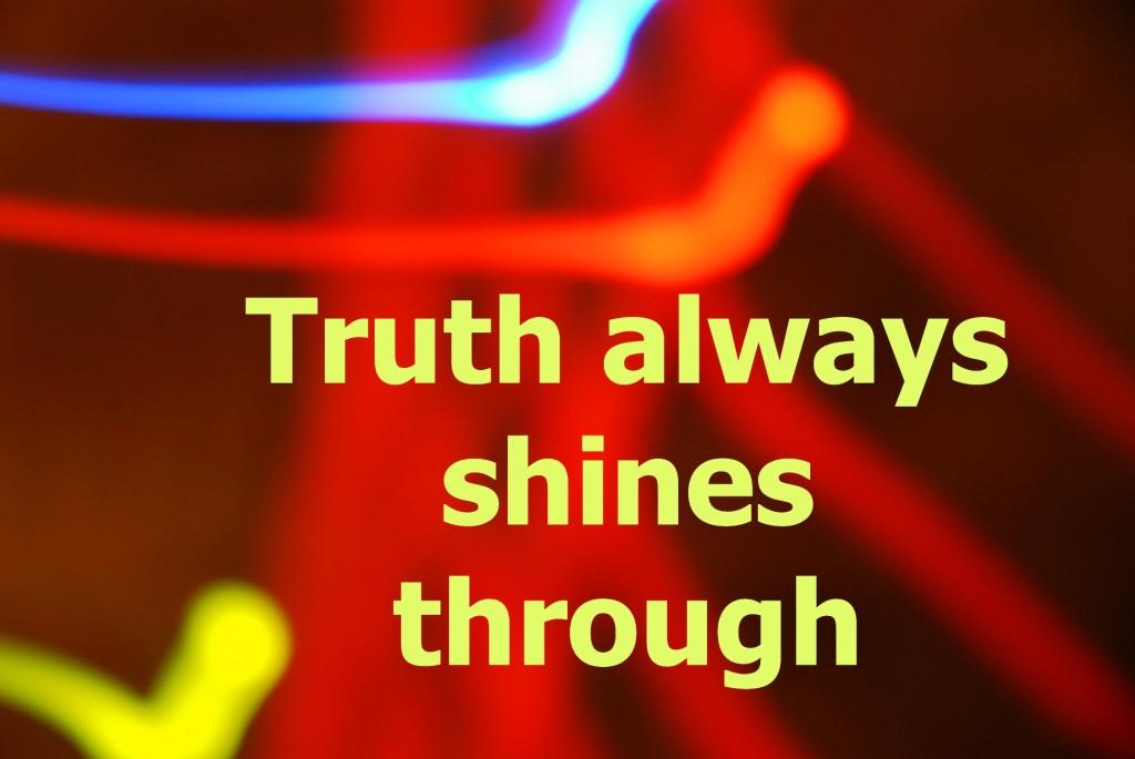 alter ego truth shines through