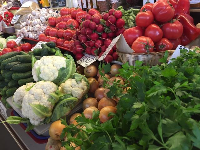Freshest vegetables