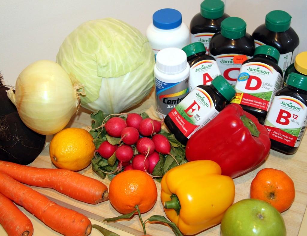 Supplements versus real food