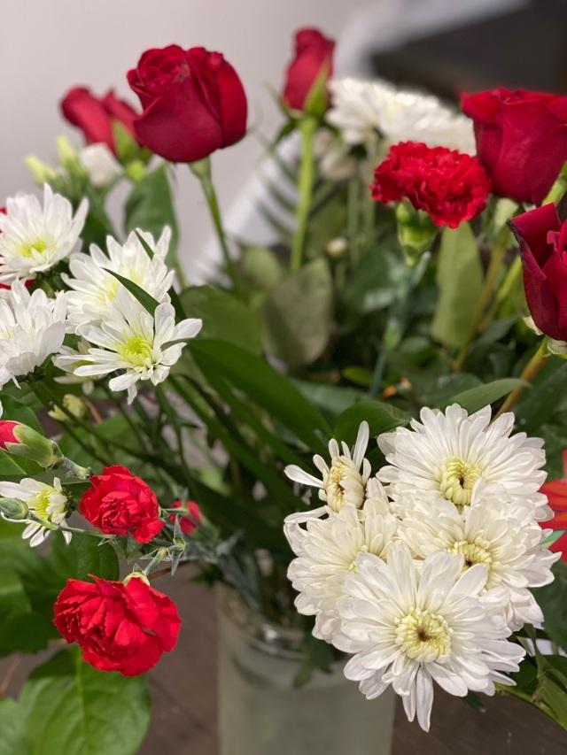 Beautiful roses for joy